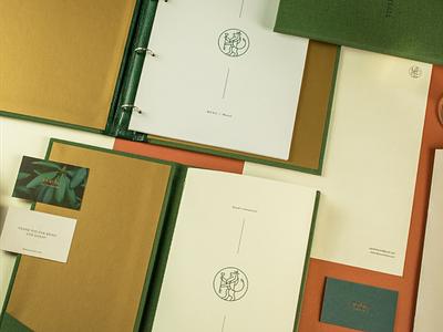 Leon Coronato & Đardin visual identity stationery design print menu design restaurant branding creative direction business cards logo design visual identity branding