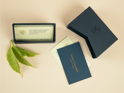Leon Coronato & Đardin visual identity hotel branding corporate identity stationery design print creative direction business cards branding visual identity logo design