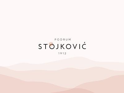 Winery Stojkovic logo wine label winery creative direction branding visual identity logo design