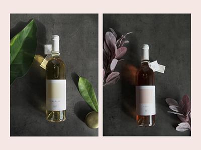 Winery Stojkovic labels label design winery creative direction print logo design branding visual identity