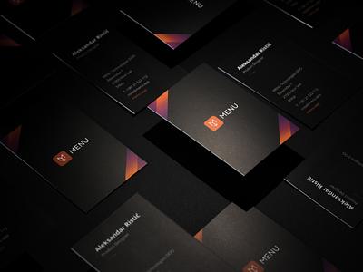 MENU App Case Study case study startup webdesign icons illustration stationery design print branding visual identity logo design creative direction