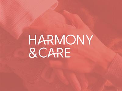 Harmony & Care Case Study app design logo design print material icon design case study startup visual identity creative direction webdesign