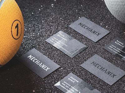 Mechanix visual identity business cards stationery design print branding visual identity logo design creative direction