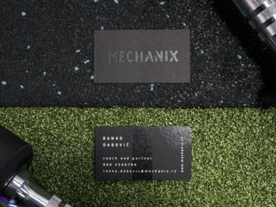 Mechanix visual identity