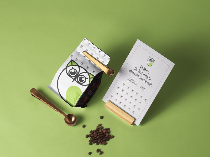 owl coffee packaging packagingdesign packagedesign packaging logo branding graphic design design