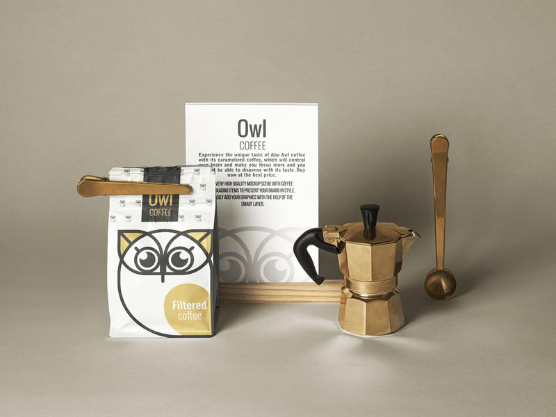 owl coffee packaging packaging design package packaging design graphic design logo branding