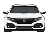 2019 Civic Type R Illustration