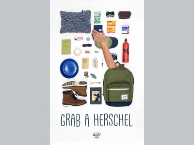 Herschel Supply Co ad photograhy ad design ad herschel design