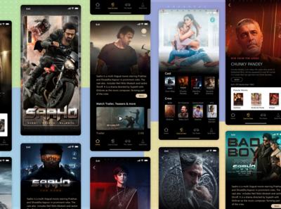 Saaho Movie App Concept