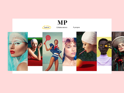 Musset Photography typography website ui web ux design animation interaction interface