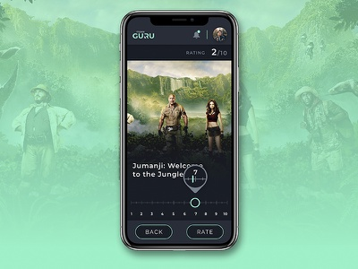 Movie Rating app design web design layout the avengers mobile application info card movie