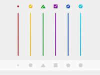 Six Level Six Colors Six geometry
