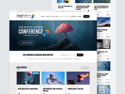 Jung Platform Ecommerce Website ecommerce website design ux ui