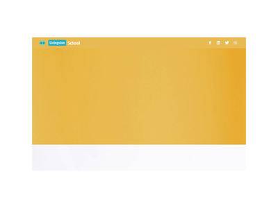 Landing page- Livingston School minimal minimalist principleapp figma responsive design ux uidesign mobile design interaction design minimal design landing page website
