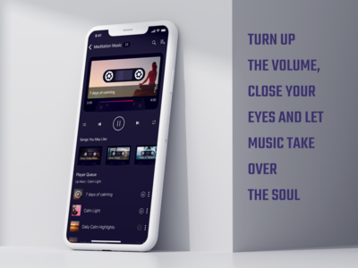 Design Concept for Music App