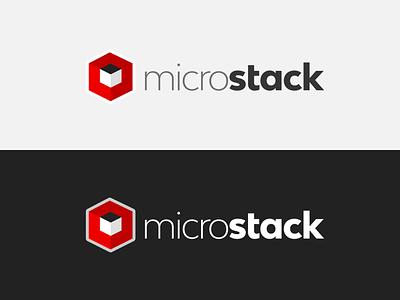 MicroStack logotype logo