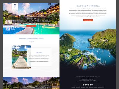 Resort Design ui web site