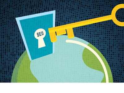 Key Seo Blog Image illustration