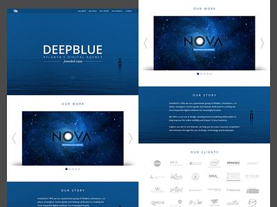 DeepBlue ui web site
