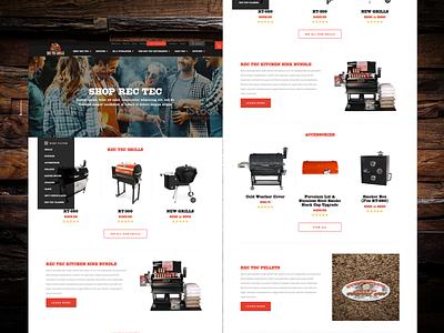 Grill Company ui web site