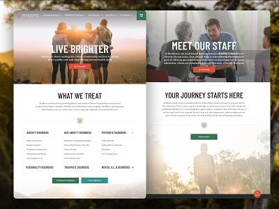 Treatment Center ui web site