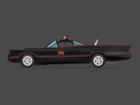 60's Batmobile