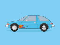 AMC Pacer Illustration