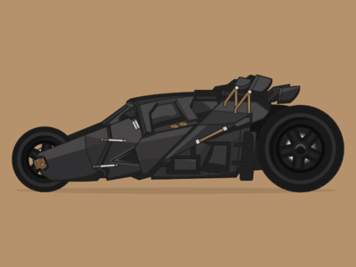 "The Tumbler from ""The Dark Knight"""