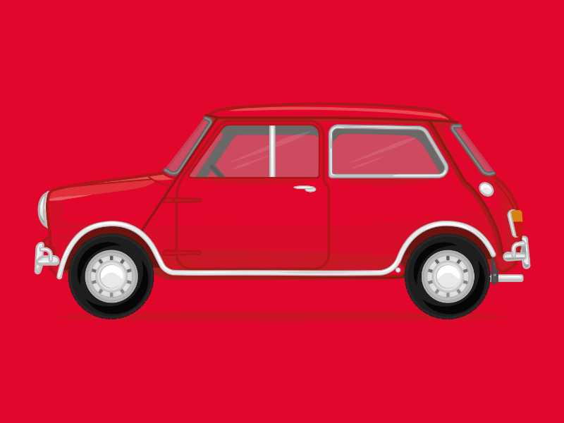 Mini Cooper car car illustration mini illustration mini cooper mini