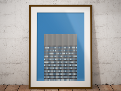 Arts Tower, Sheffield print