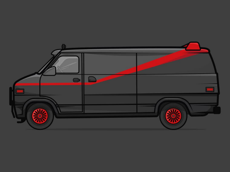 I love it when a plan comes together. A-Team van. 1980s tv shows 80s tv shows 80s tv 1980s 80s gmc vandura gmc van gmc a-team van a team van a team ateam a-team