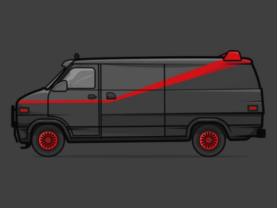 I love it when a plan comes together. A-Team van.