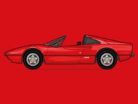 Magnum PI's Ferrari 308