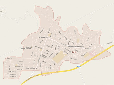 My name shape district town name maps google