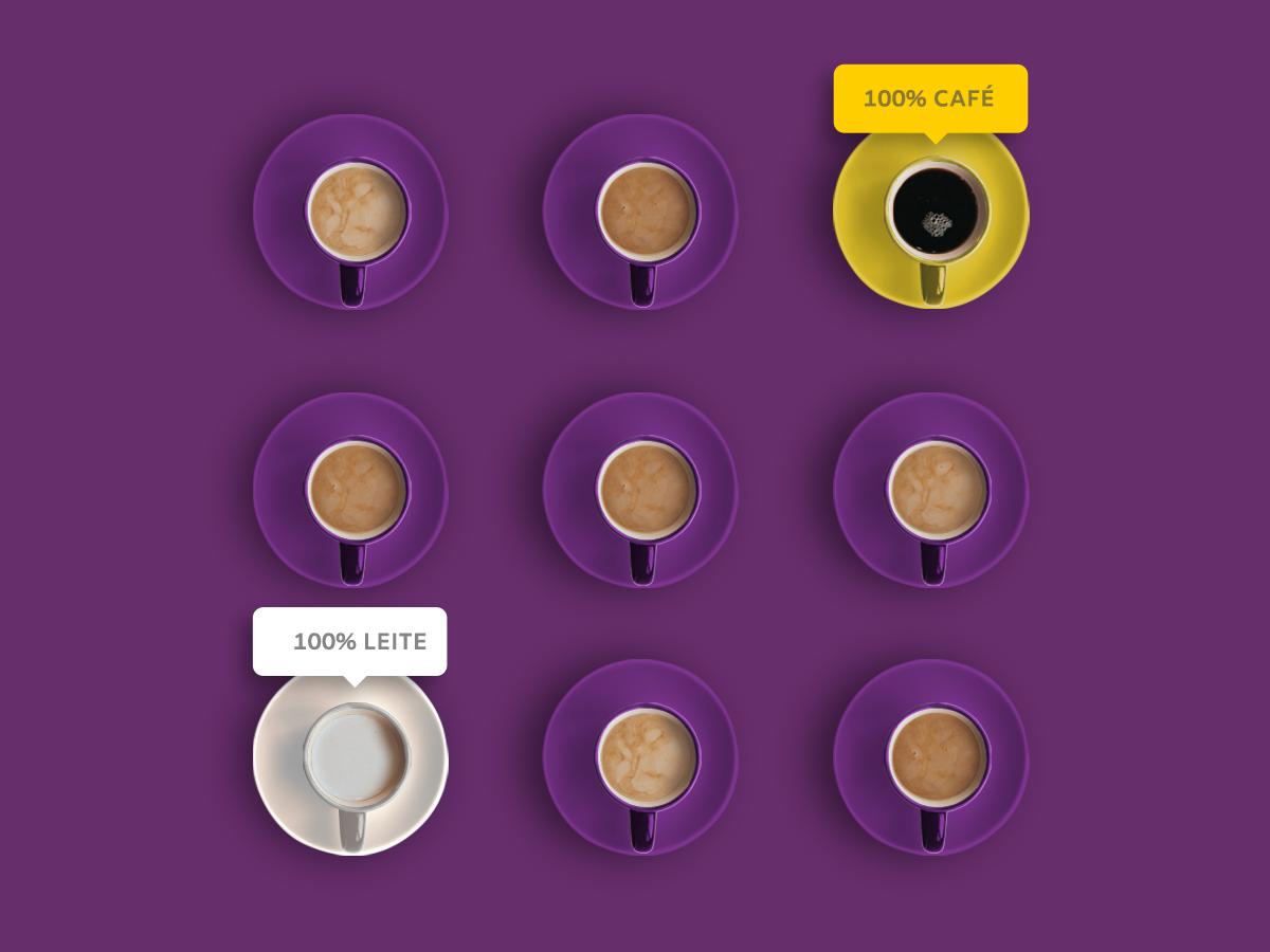 Post Polarização brand milk coffee polarise post instagram