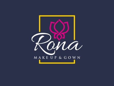 logo for Rona Makeup & Gown