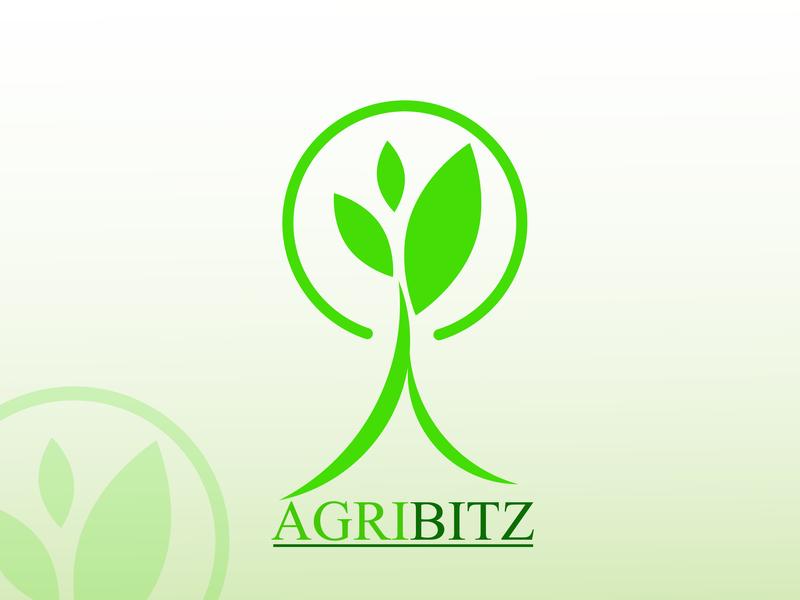 Agribitz flat icon branding myftha rochma design illustration graphic vector logo design logo