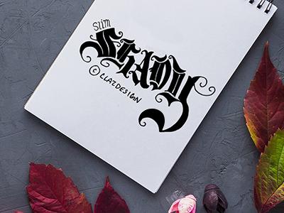 Slim Shady | Hand Lettering