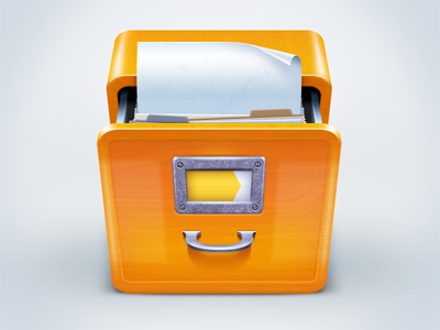 Folder Box Icon icon folder box sheet yandex
