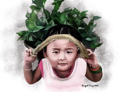 Little Village Girl