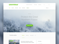 Greenpeace Redesign