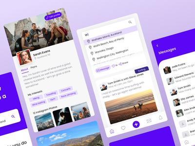 Got Plans #2 graphics icons branding webdesign explore travel web design design mobile app web app nz new zealand minimalism ux flat ui