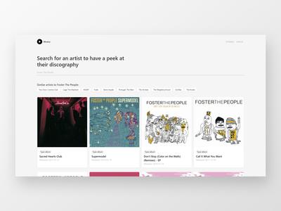 Musica (A React App)
