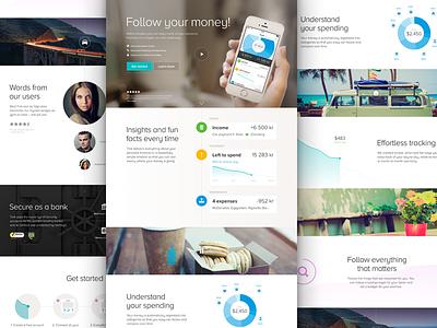 Tink - New Web web landing design flat ui apps showcase