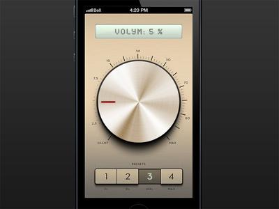 Volym - volume level app