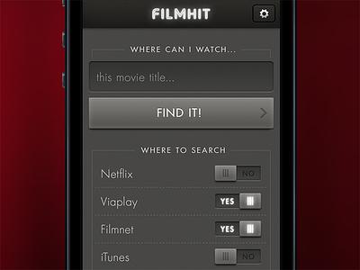 Filmhit movie finder iphone app movie ticket search