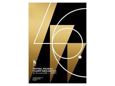 46 Festiwal Polskich Filmów Fabularnych logo festival movie film branding typography graphicdesign color illustration