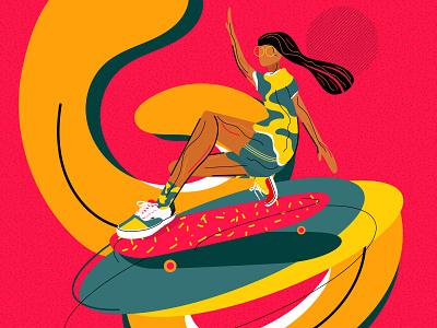 Vans shoes snakers sport vans skateboarding vector design pattern graphicdesign color illustration