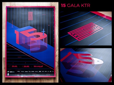 KTR - poster typography spot uv graphic design poster illustration ktr