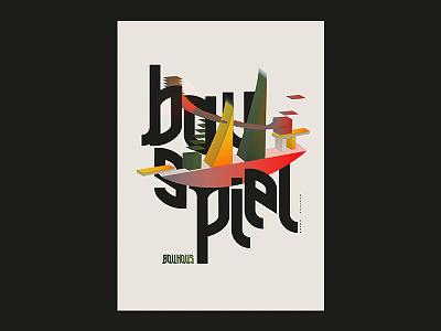 Bauhaus type font type daily 3dillustration vector graphicdesign typography bauhaus illustration
